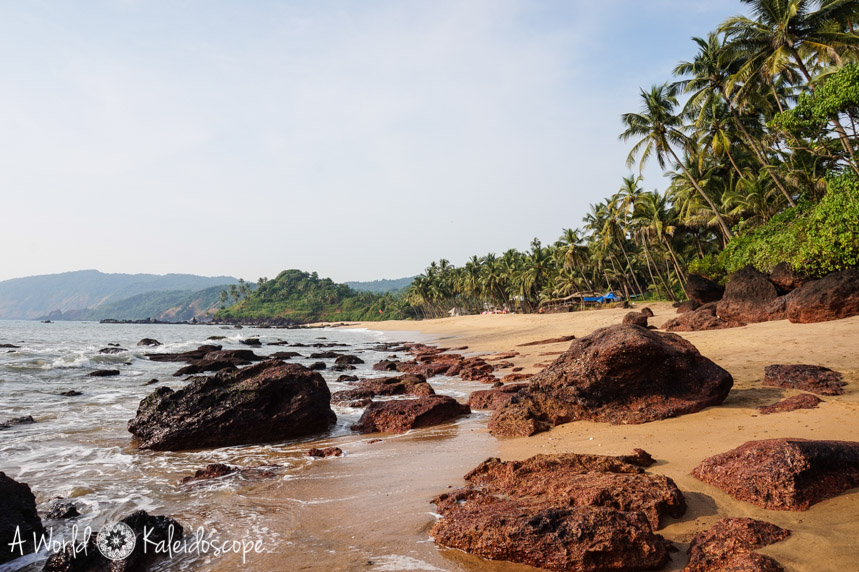 allein-reisen-frau-indien-goa-cola-beach