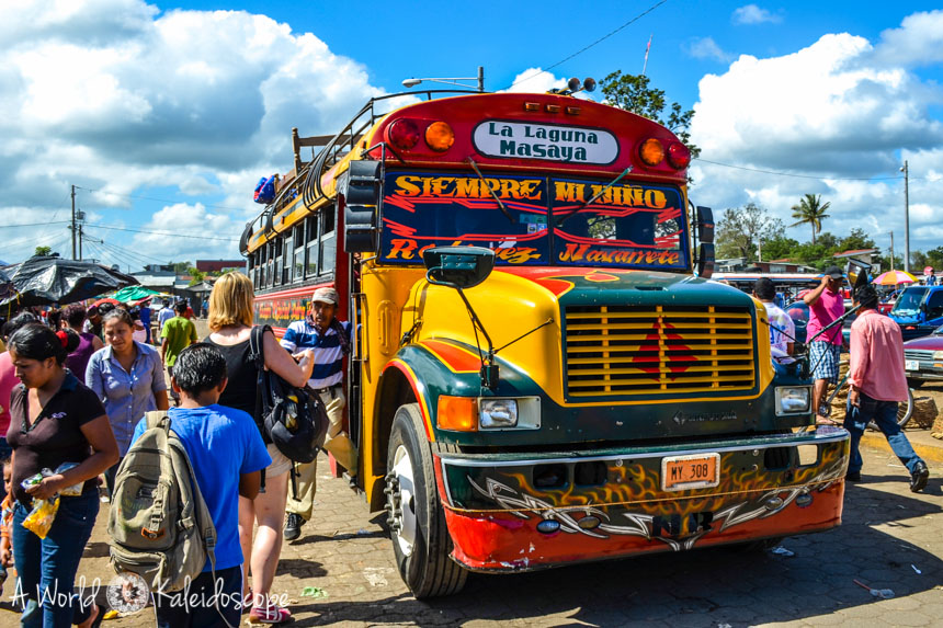 backpacking-nicaragua-chicken-bus