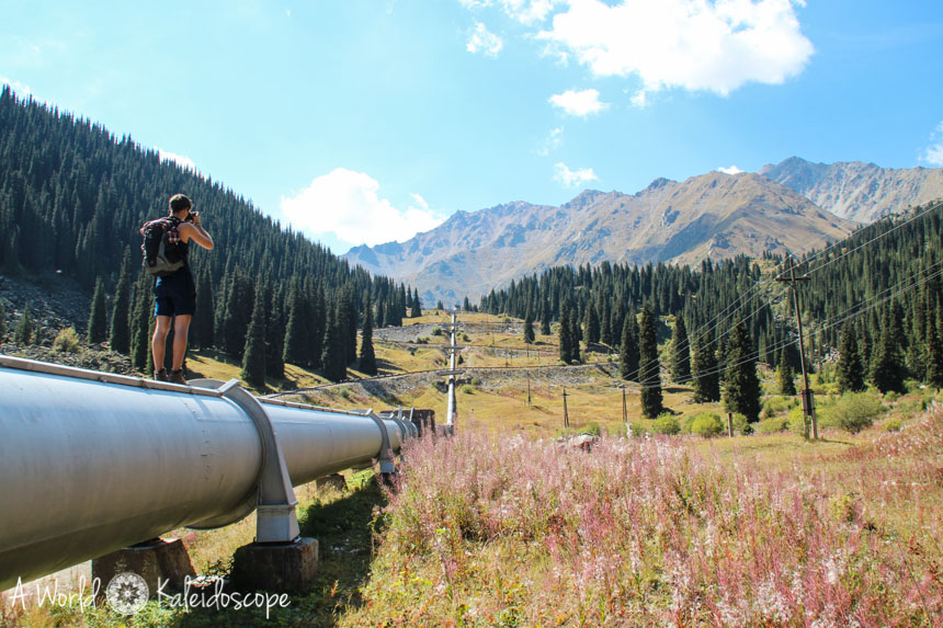big-almaty-lake-pipe-close