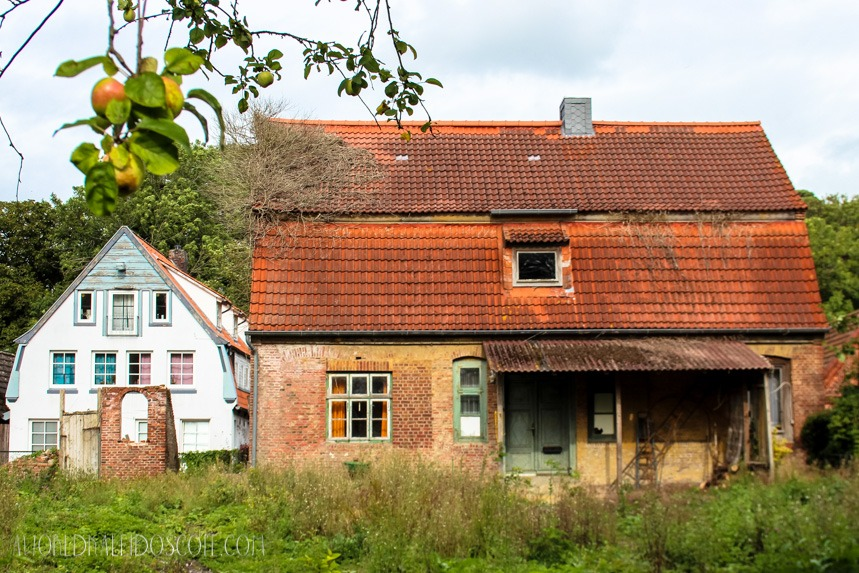 Old country house in Otterndorf near Cuxhaven, Germany