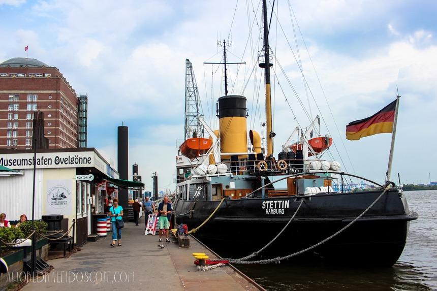 Museumshafen Hamburg Övelgönne