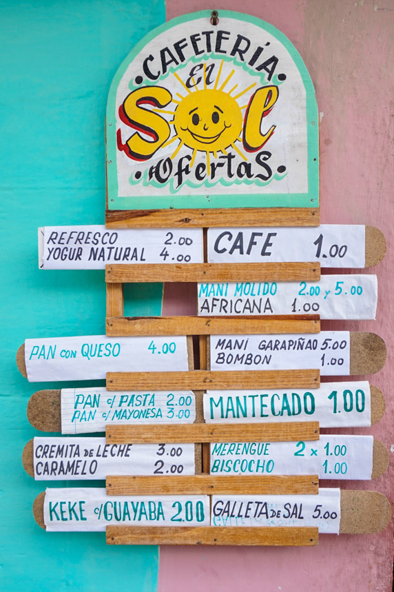 kuba_cafeteria_menu