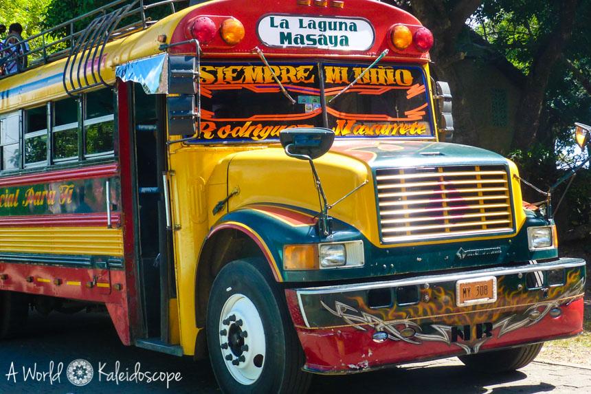 reisekosten-nicaragua-backpacking-budget-chicken-bus