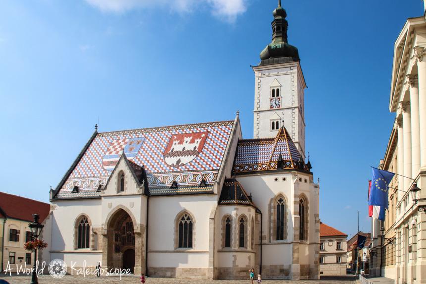 Markus-Kathedrale, Zagreb, Kroatien
